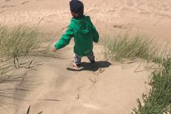 Strandklettern
