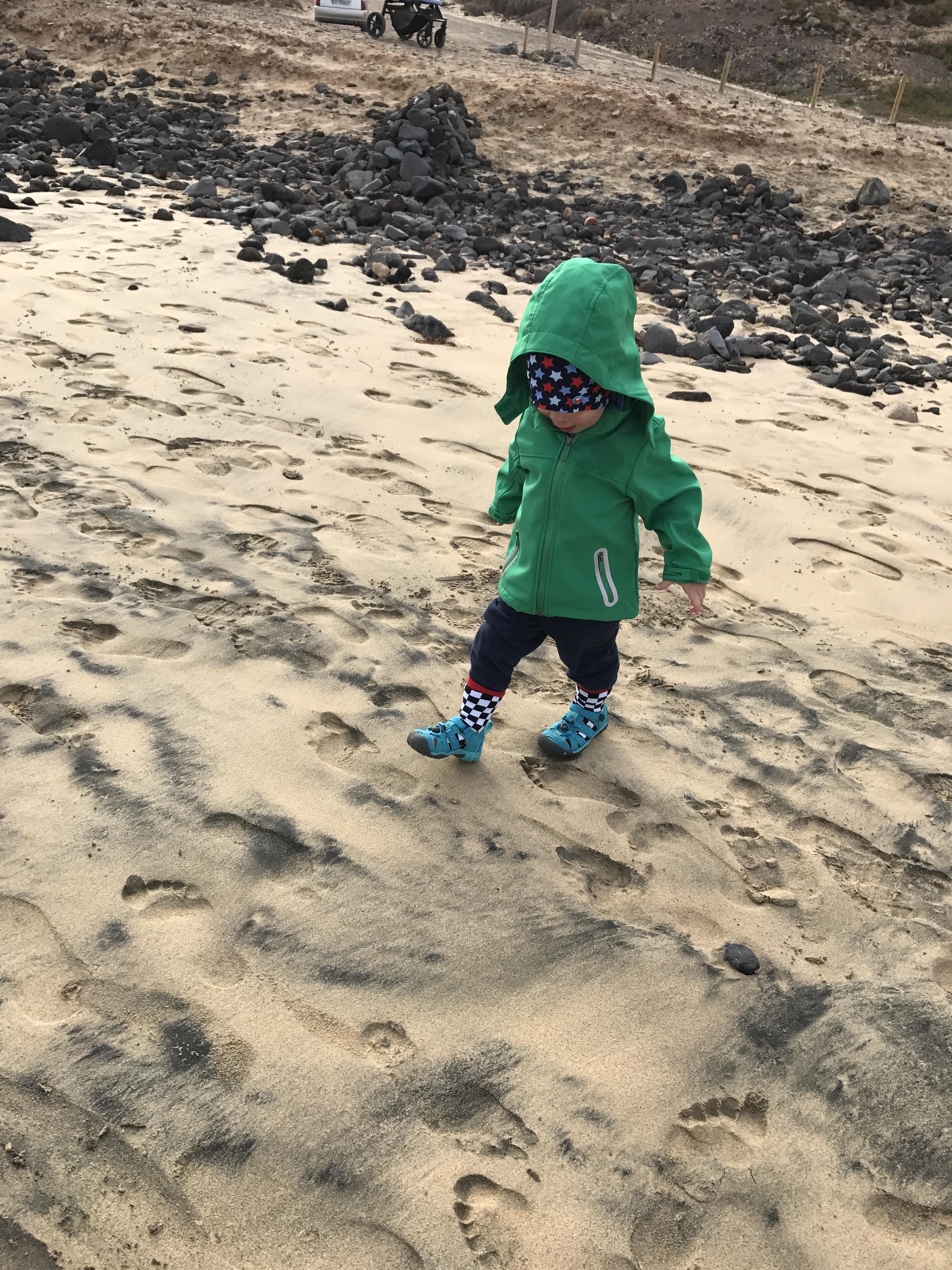Strandspaß auch bei kühlen Temperaturen