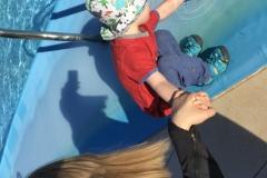 Wir entdecken den Pool