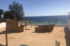 Sandspielplatz Esqinzo Playa