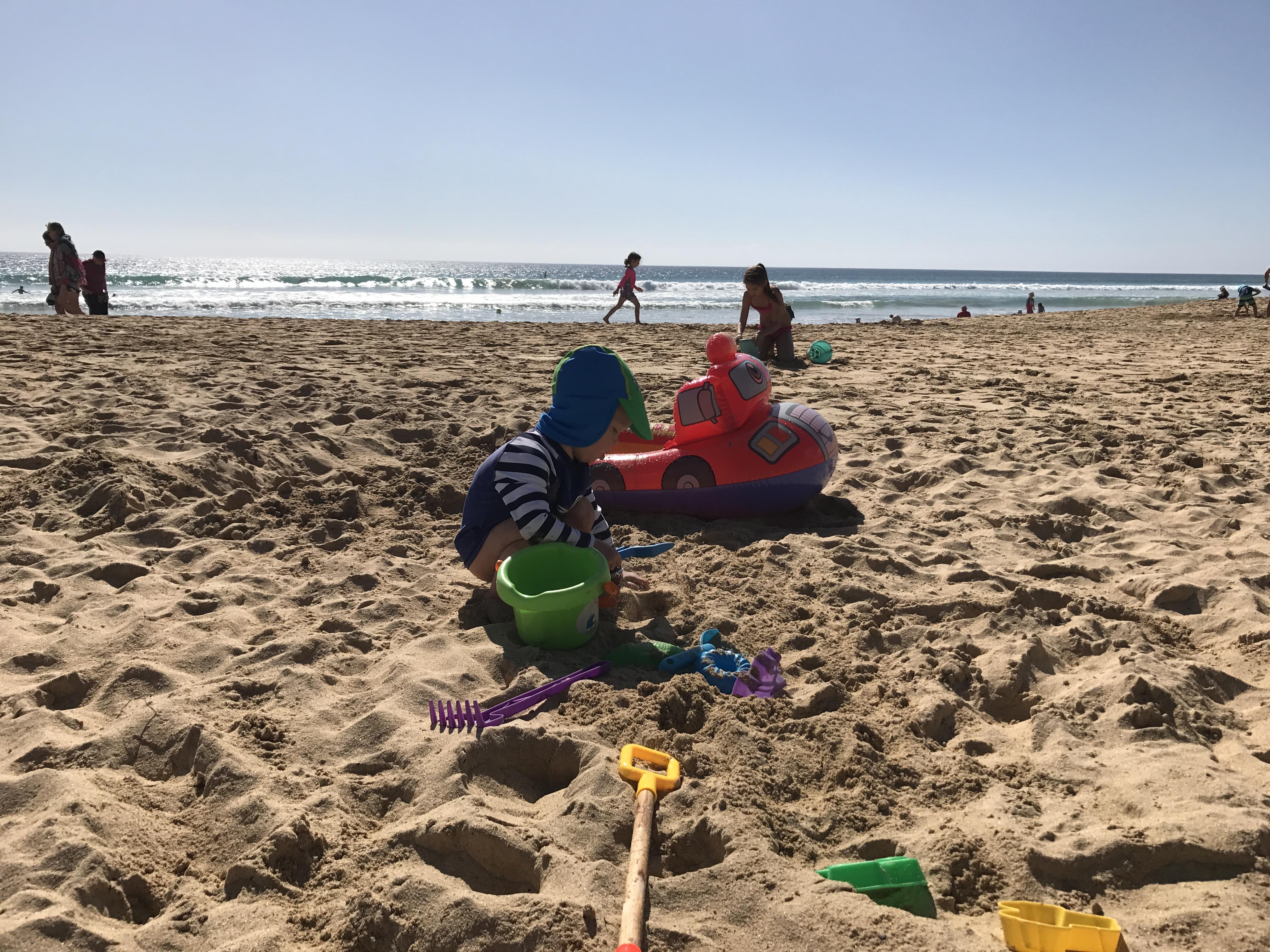 Strandurlaub mit Kleinkind